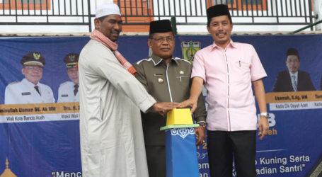 Aminullah Usman Buka MQK Tingkat Banda Aceh