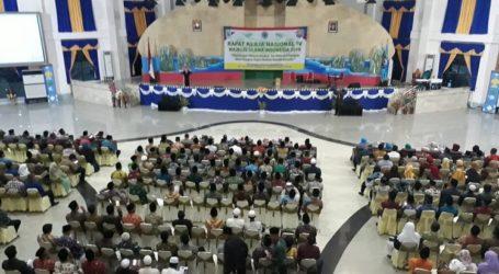 Buka Rakernas IV MUI, Gubernur Papua Barat: Jadikan Perbedaan Sarana Pemersatu Bangsa