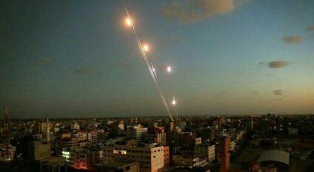 Pejuang Gaza Luncurkan 100 Roket dalam 50 Menit sebagai Balasan