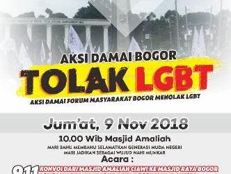 Forum Masyarakat Bogor Akan Gelar Aksi Tolak LGBT di Bogor