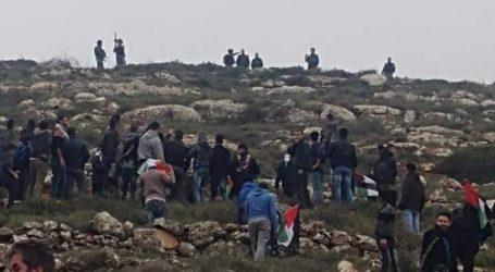 Warga Palestina di Nablus Kembali Bentrok dengan Tentara Israel