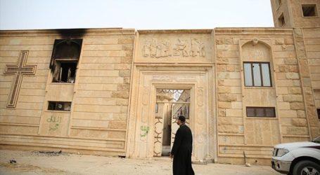 Irak Mulai Bangun Kembali Gereja-Gereja Mosul yang Hancur