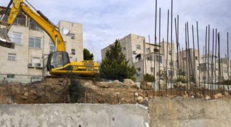 Pasukan Israel Hancurkan Bangunan Milik Palestina di Dekat Betlehem