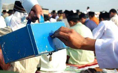 BI Lhokseumawe Bagikan Kotak Amal Khusus pada Mesjid-Mesjid