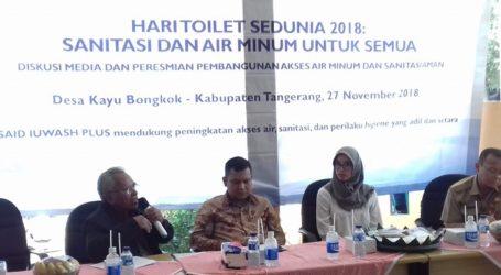 Masih Banyak Warga Kabupaten Tangerang tak Punya Sanitasi Layak