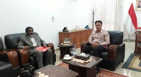 Dubes RI Khartoum Menerima Kunjungan Pakar Zakat Sudan