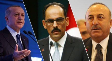 Erdogan, Pejabat Tinggi Turki: Kami tidak akan Berhenti Ungkap Kezaliman Israel