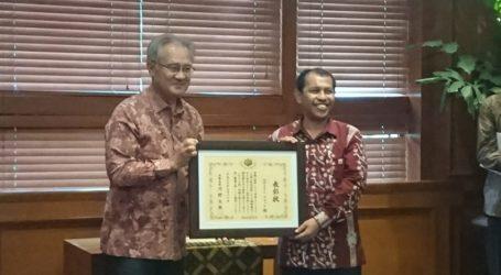 Jepang Beri Penghargaan Pada Seorang Peneliti Gempa Aceh