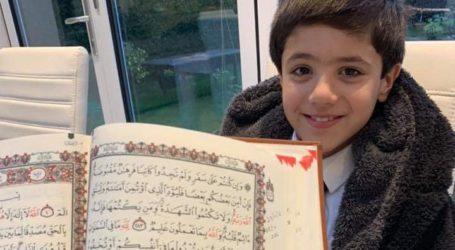 Yusuf Aslam, Hafiz Asal Inggris di Usia 7 Tahun
