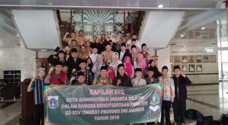 Jaksel Kirim 26 Kafilah Ikuti Lomba Tilawatul Quran Tingkat Provinsi