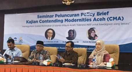 Tiga Peneliti  Luncurkan Policy Brief untuk Aceh