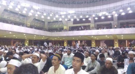 Isi Akhir Tahun, Ribuan Umat Islam Hadiri Zikir Nasional di Masjid At-Tin Jakarta