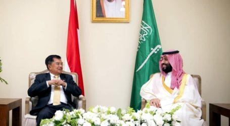 KTT G20: Wapres JK-Pangeran Saudi Bertemu Bahas Kilang Minyak dan Isu Islam