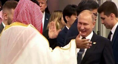 Pemimpin Dunia Akrab Sapa Putra Mahkota Saudi di KTT G20