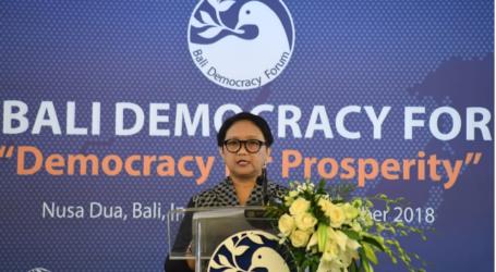 Menlu: Demokrasi Hilangkan Ketimpangan dan Mereduksi Kesenjangan