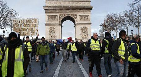 Lebih 350 Orang Ditahan Jelang Protes Terburuk di Paris