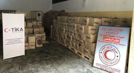Turki Sumbang 16 ton Bantuan Makanan ke Libya