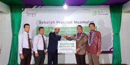 Muamalat Salurkan Bantuan Sekolah di Aceh