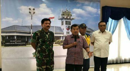 Wapres Pimpin Rapat Penanganan Bencana Tsunami Selat Sunda