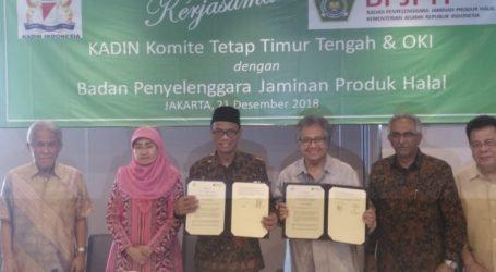 Dukung Jaminan Produk Halal, Kadin Teken MoU dengan BPJPH