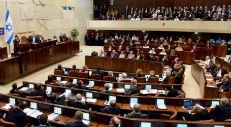 Parlemen Israel Sepakat Bubarkan Diri