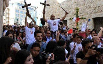 Israel Cegah Warga Kristen Gaza Masuki Betlehem