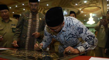 Menag Resmikan 21 Balai Nikah dan Manasik Haji KUA di Jatim