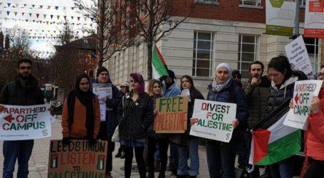 Ratusan Mahasiswa 30 Universitas di Inggris Protes Investasi di Israel