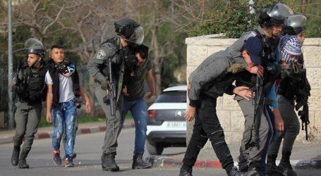 Pasukan Israel Tangkap 14 warga Palestina di Tepi Barat