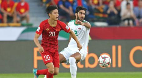Piala Asia 2019: Irak Raih Kemenangan Dramatis atas Vietnam 3-2