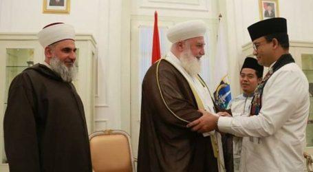 Anies Terima Kunjungan Dua Ulama Timur Tengah
