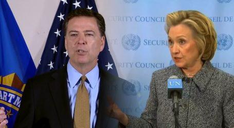 Bantah Laporan NYT, Trump Serang Comey dan Hillary Clinton