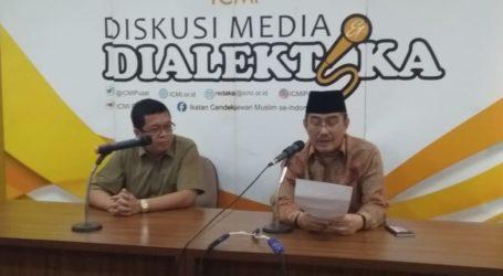 ICMI Ajak Pemilih Agar Tidak Baper Jelang Pemilu 2019