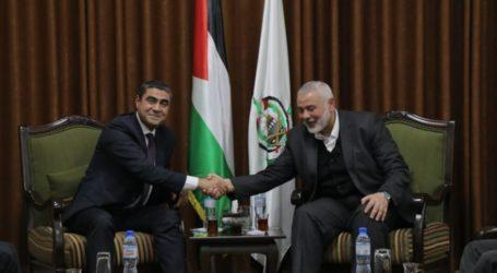 Haniyah Bertemu Delegasi Mesir di Gaza