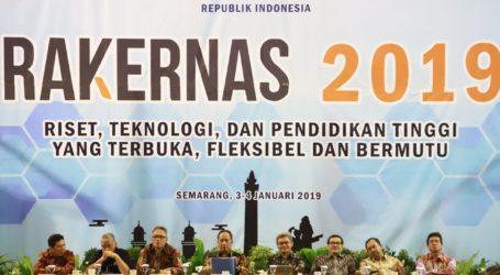 Rakernas 2019, Kemenristekdikti Fokus Tingkatkan Kualitas SDM Indonesia