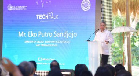 Menteri PDTT: Teknologi Industri 4.0 Bisa Tingkatkan Pemerataan
