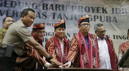Menristekdikti Resmikan Gedung Baru Untan Proyek Islamic Development Bank 7 in 1