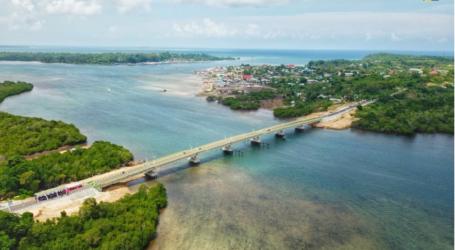 Menkeu. Resmikan Jembatan Dengan Dana Surat Berharga Syariah Negara