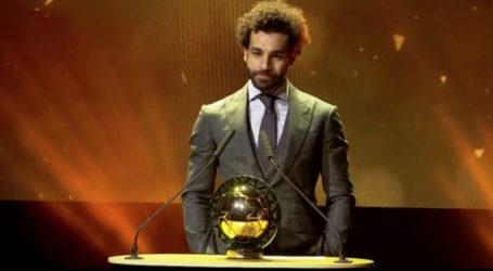 Mohamed Salah Jadi Pemain Terbaik Afrika Dua Tahun Berturut-turut