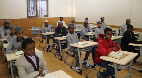 Sekitar 40 Anak Sudan Belajar Quran dan Bahasa Turki di Istanbul