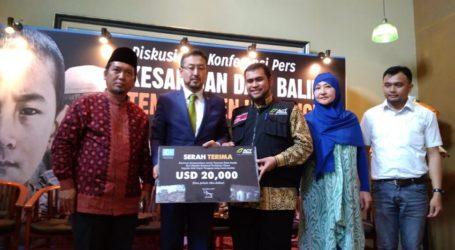 Diaspora Muslim Uighur Sumbang Korban Tsunami Selat Sunda