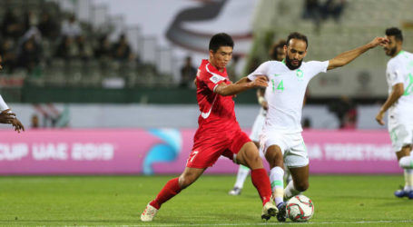 Piala Asia 2019: Arab Saudi TaklukanKorut 4-0