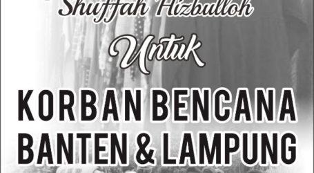 Fatayat Suffah Cileungsi Adakan Bazar Amal untuk Korban Tsunami Lampung
