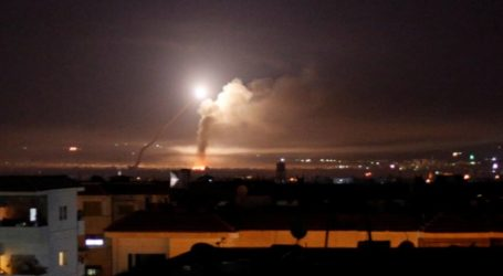 Pertahanan Udara Suriah Berhasil Hancurkan Rudal Israel