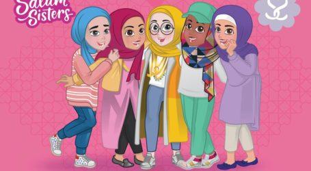 "Boneka Berhijab ""Salam Sisters"" Telah Mendunia"