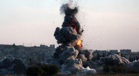 Koalisi Pimpinan AS Serang Masjid di Suriah utara