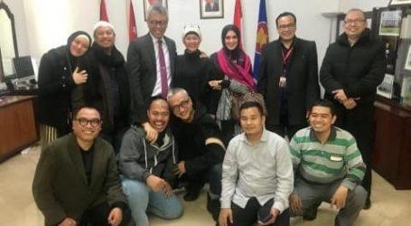 Sebelum ke Palestina, Opick dan Dik Doank Kunjungi KBRI Yordania