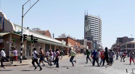 Protes Anti Pemerintah Landa Zimbabwe