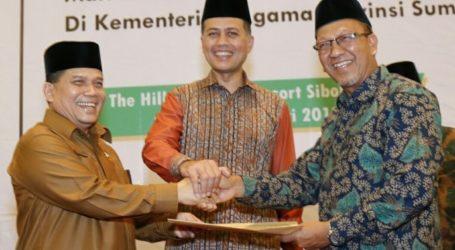 Kemenag Aceh dan Sumut Teken MoU Kerukunan Umat Beragama di Wilayah Perbatasan