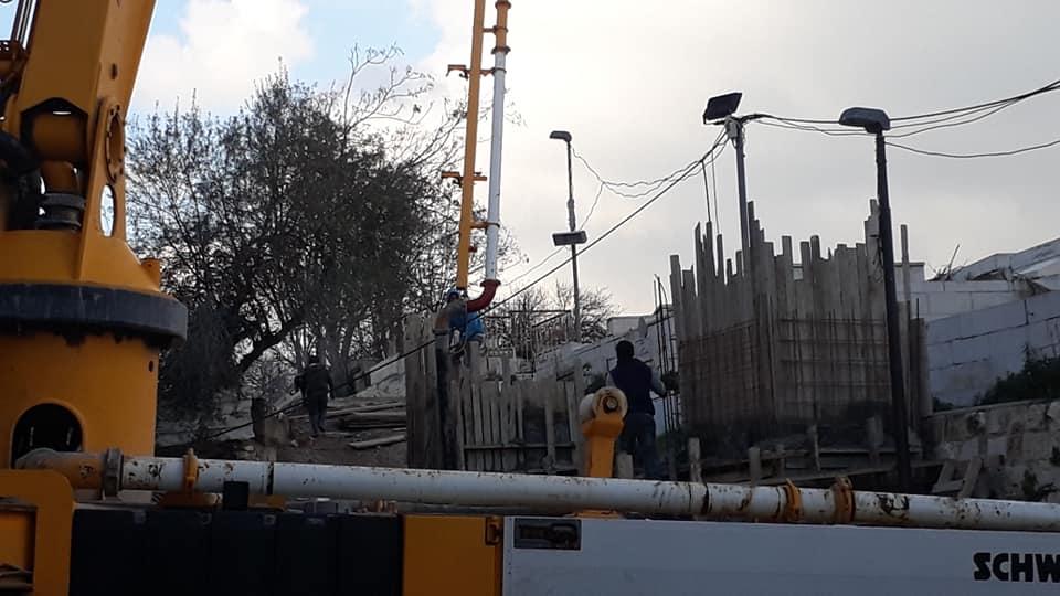 Israel Bangun Beton Penghalang di Masjid Al-Aqsa